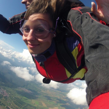 Saut parachute tandem à Nancy