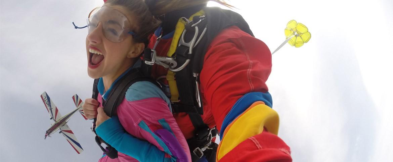 Saut parachute Vosges