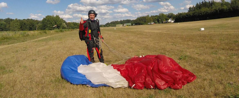 Saut parachute France